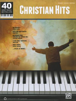 40 Sheet Music Bestsellers - Christian Hits By Alfred Publishing Staff (COR)
